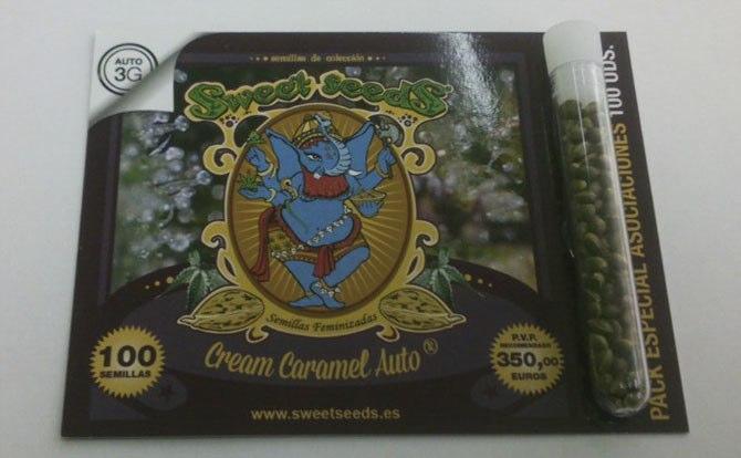 100 Semillas Auto Cream Caramel