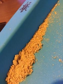 extracción tipo budder hecha por el equipo de Cactus Martorell