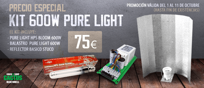 Oferta kit de iluminación