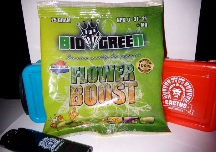 Flower Boost Bio Green
