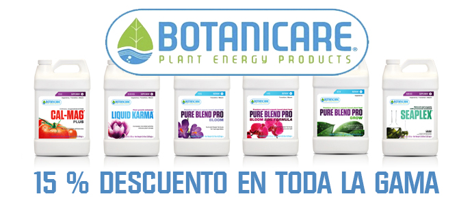 Dto. Fertilizantes Botanicare 15%