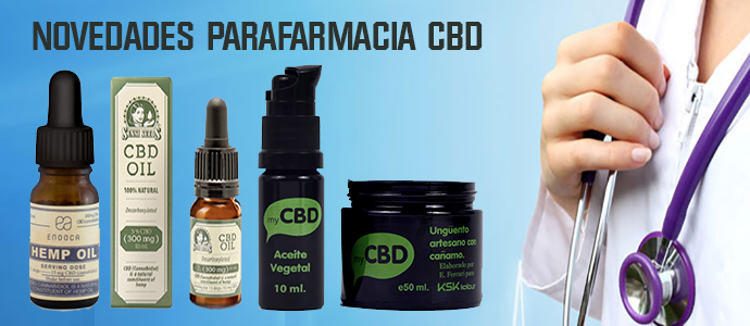 Novedades Parafarmacia CBD