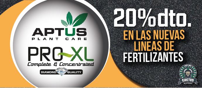 Nuevas líneas de fertilizantes Pro-XL y Aptus