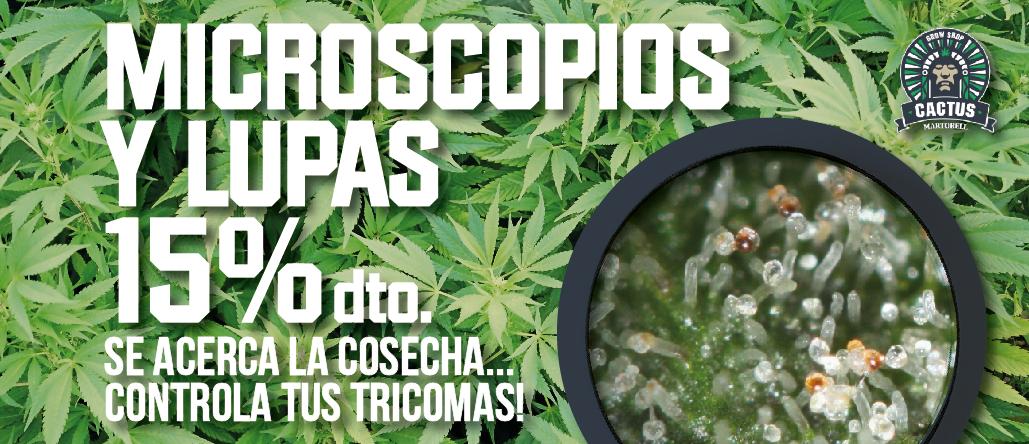Microscopios y Lupas 15% Descuento