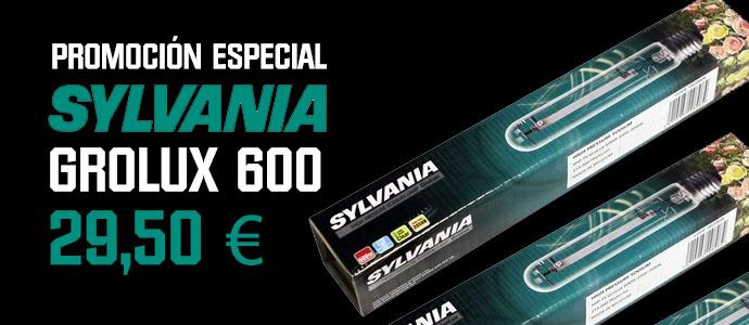 Promoción Sylvania Grolux 600
