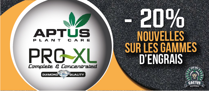 Engrais Aptus Pro XL- 20% de réduction