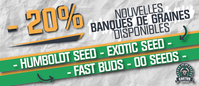 Graines Humboldt Seed, Exotic Seed, Fast Buds, 00 Seeds 20 % de réduction