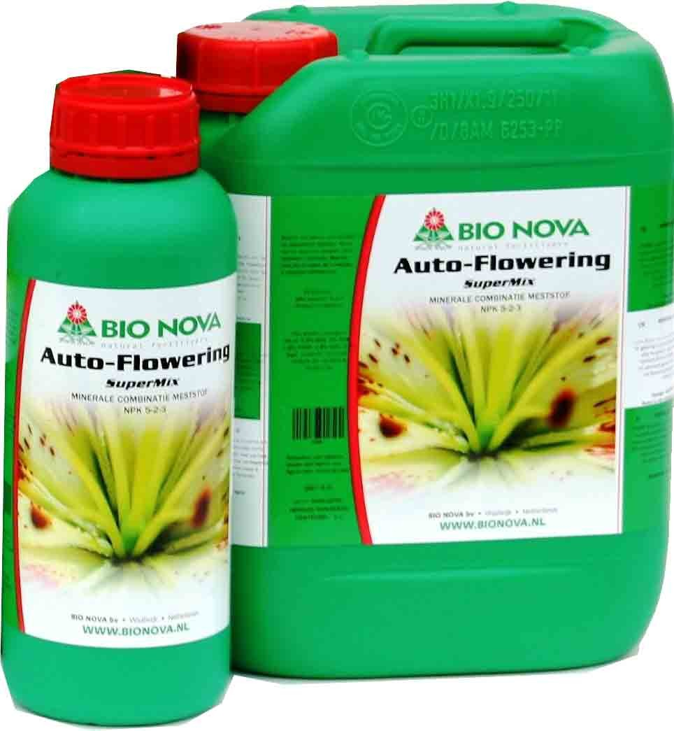 Autoflowering Supermix Nutriente