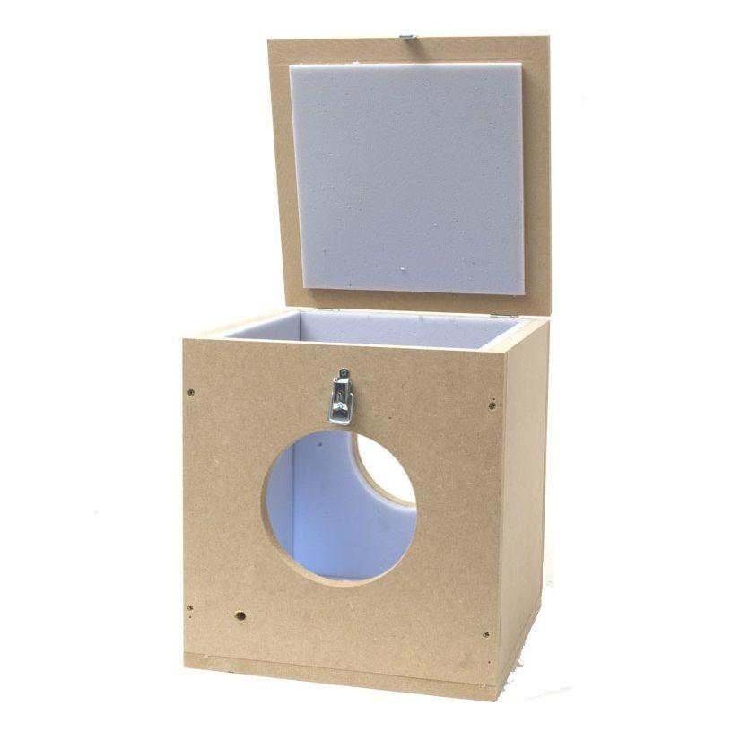 Caja silenciadora Extractor 150mm