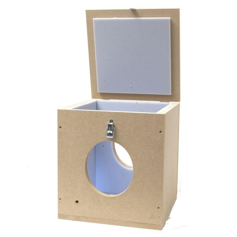 Caja silenciadora extractor 200mm