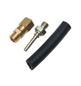 conexión secador y bomba