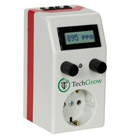 Controlador Co2 Economico Techgrow