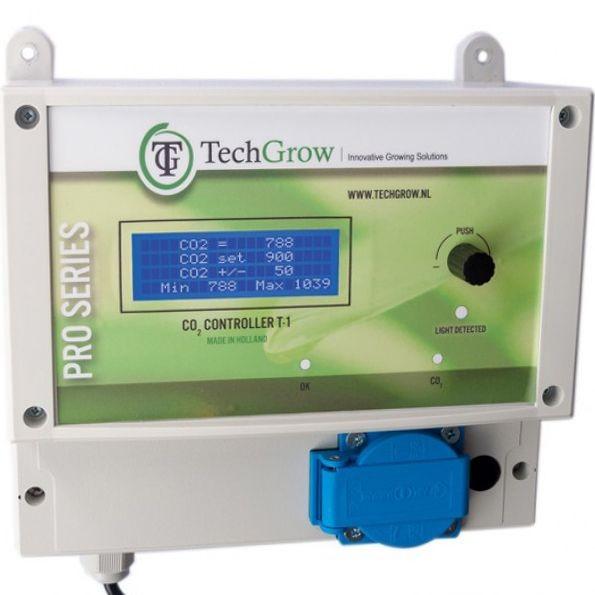 Controlador Co2 T-1 Pro de Techgrow
