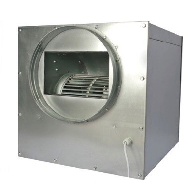 Extractor Metalico Caja 2000m3/h