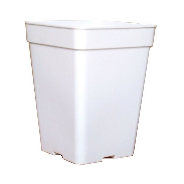 Maceta 5.5 Litros Blanca