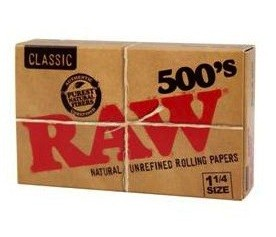 Papel Raw 500's