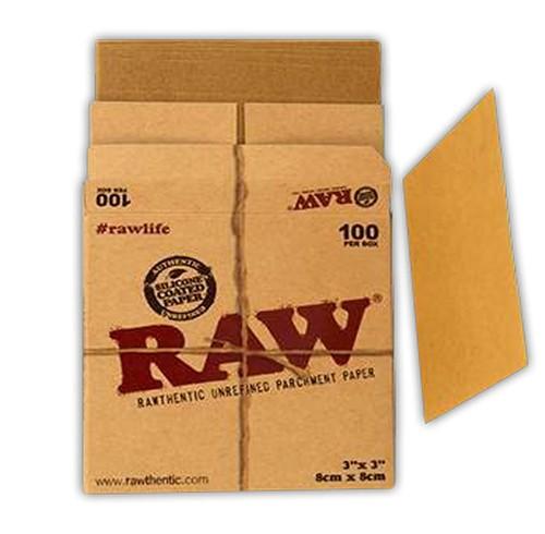PAPEL RAW PERGAMINO (8x8cm)