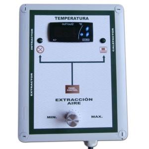 Fan Controller con Medidor Temperatura