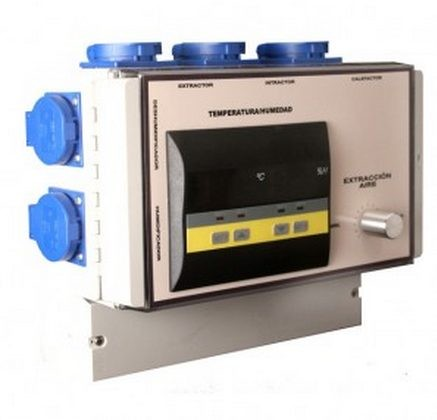 Control Profesional Temperatura y Humedad