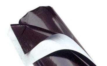 Plastico Blanco Negro 125 micras