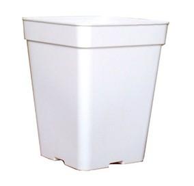 Pot Blanc Carré 5.5 Litres