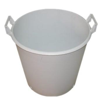 Pot Rounf Blanc 50 Litres
