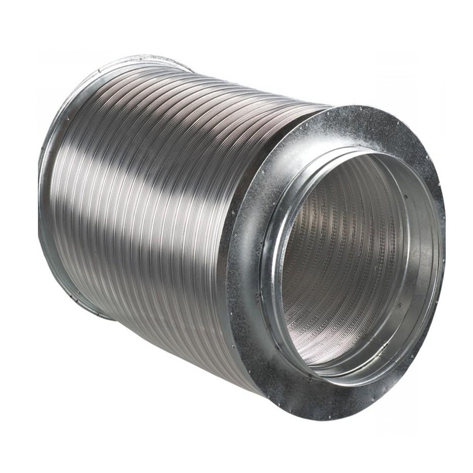 Silenciador corto conductos 200mm