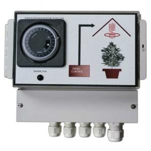 Temporizador Protección 12 Lámparas
