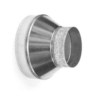 Reducción diámetro metálica