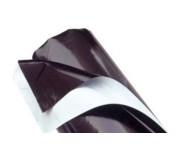 PLASTIQUE BLANC NOIR 125mc (2x1.00m)
