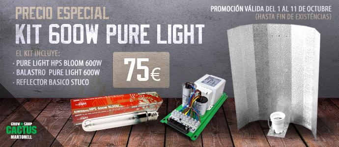 Oferta Kit iluminación 600 watt