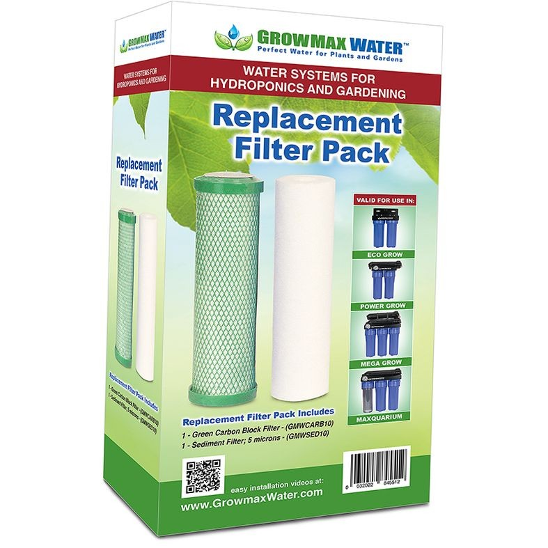 Replacement Filter Pack Growmax Water